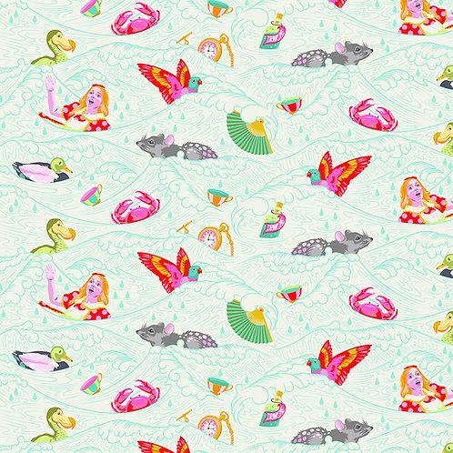 Tula Pink Curioser Sea of tears Wonder