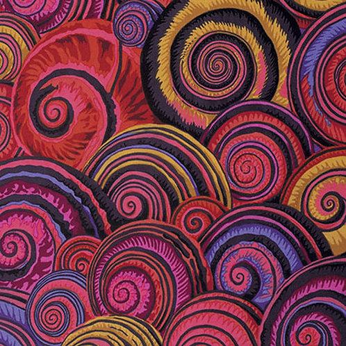 Spiral shells red