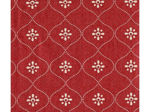 EQP Vintage wallpaper Ruby red