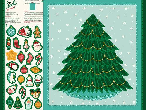 Paneel Kerstboom/ adventkalender