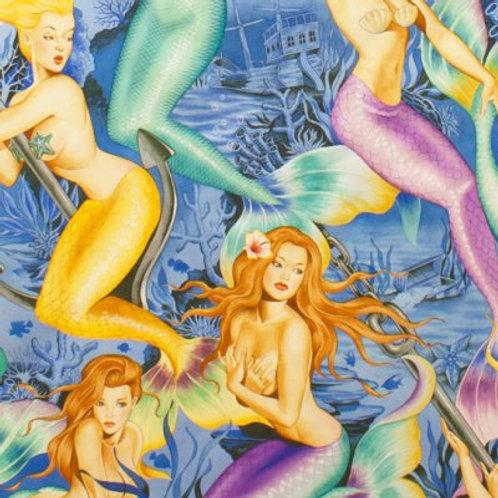 Sea sirens blauw