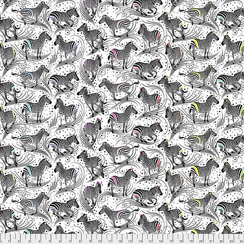 Tula Pink Linework Zebra