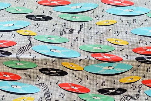 Kleurige vinylplaten