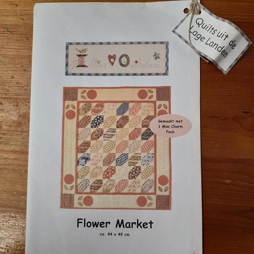 EQP Flower market patroon