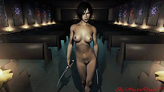 Ada Wonng follower mod by Shadowdancer, skyrim mods