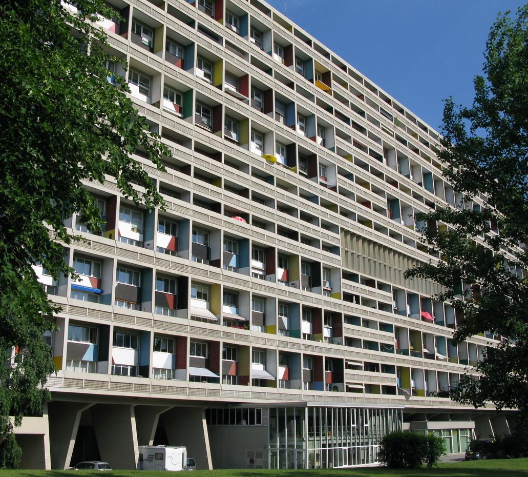 Photograph of Corbusierhaus, 2018