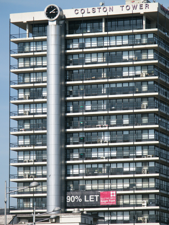 Photograph of the soon to be renamed Colston Tower, Bristol, United Kingdom, 2012