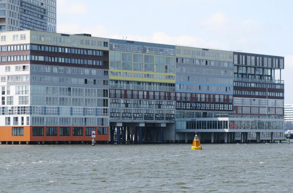 Photograph Of The Silodam Building, Amsterdam, Netherlands, 2018