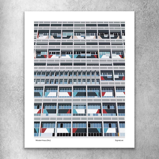 'Modernhaus' - Limited Edition Signed Print
