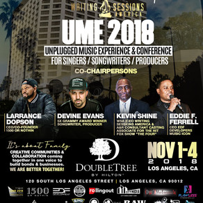 Writing Sessions America presents the Unpluged Music Experience 2018
