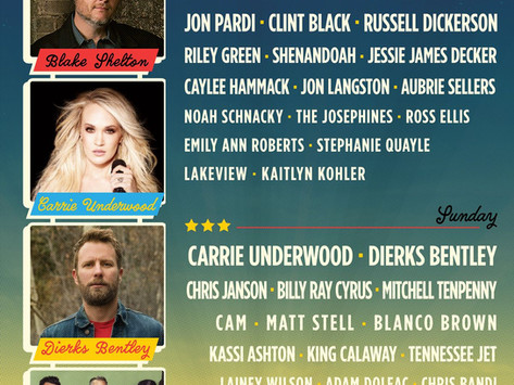 Hometown Rising: Carrie Underwood, Blake Shelton, Dierks Bently, Old Dominion, & more in 2020 Lineup