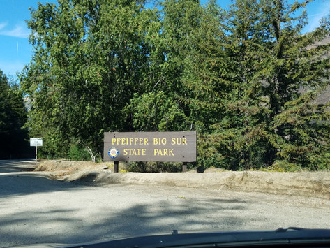 Purple Sand? For Real... heck yeah- Pfeiffer Beach, CA