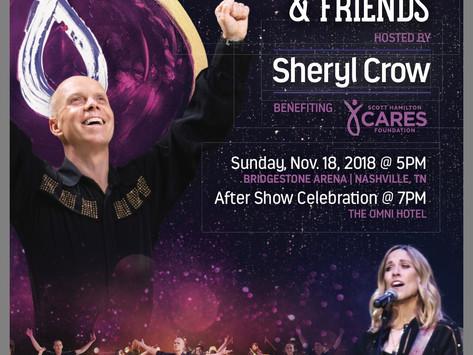 Third Annual 'Scott Hamilton & Friends,' Event Nov 18 @ Bridgestone Arena - Tickets Now on Sale