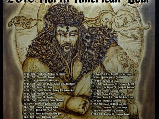 TENGGER CAVALRY Kicks Off North American Headline Tour Next Week!