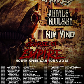 Michale Graves Continues 'Course Of Empire' North American Tour In 2018; Readies For Europe in 2019