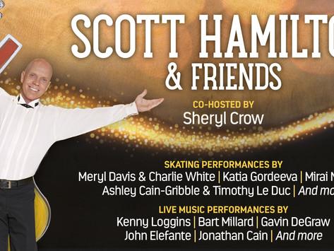 GRAMMY AWARD-WINNER KENNY LOGGINS IS SET TO ROCK THE MUSIC STAGE OF'SCOTT HAMILTON & FRIENDS' Nov 24