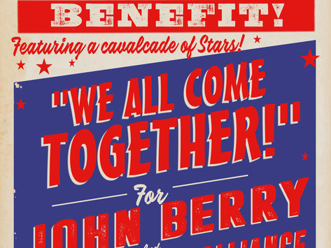 """""""We All Come Together"""" for John Berry and Music Health Alliance Announces Text-To-Donate and Online"""