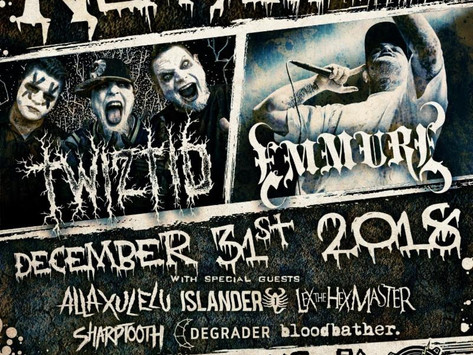 TWIZTID Announces Biggest New Years Evil Concert Yet, Featuring Co-Headliners Emmure