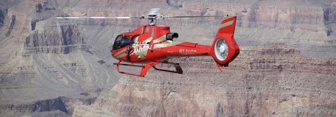 Hubschrauberflug Grand Canyon mit Landung und Sekt Picknick - Las Vegas