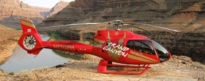 Grand Canyon Helikopter Tour mit Landung am Colorado River