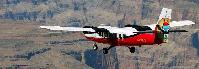 Grand Canyon Flugzeug - Treasure Tours of Nevada - deutschsprachige Touren