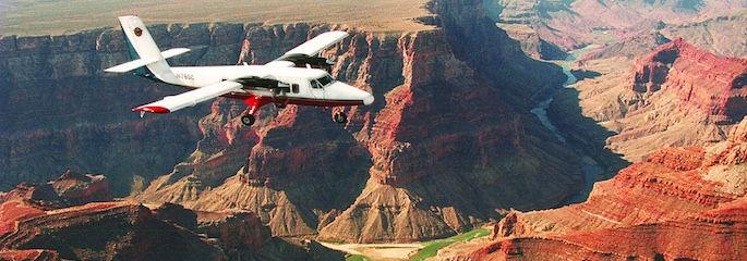 Flugzeugtour zum Gand Canyon mit Landung am South Rim - Treasure Tours of Nevada - deutschsprachige Touren