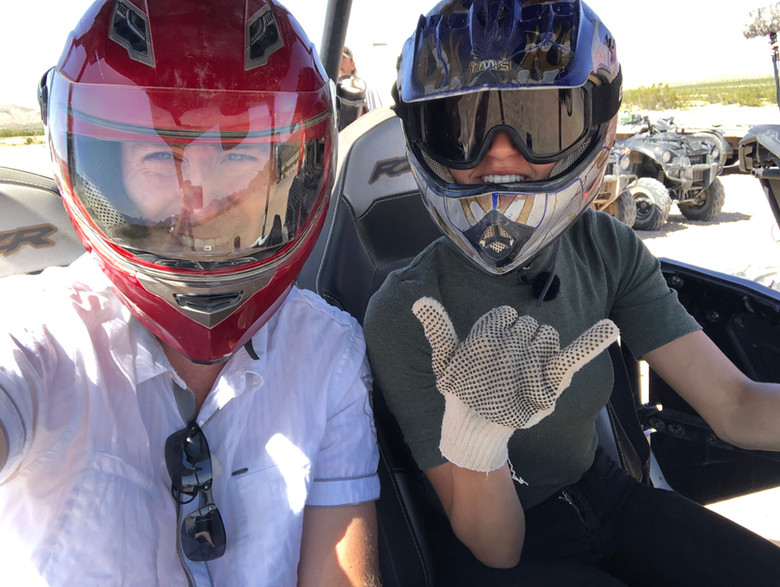 Taynara Joy & Rene Meinert Wüste Dreh