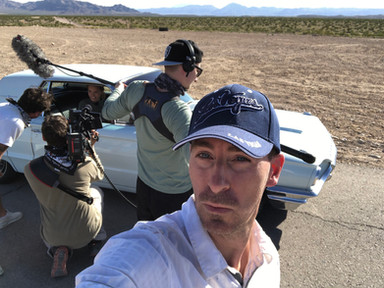 Dreharbeiten Las Vegas Rene Meinert