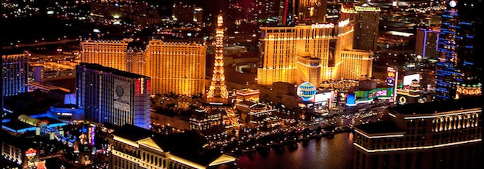 Helicopter Nachtflug Las Vegas - Treasure Tours of Nevada - deutschsprachige Tour