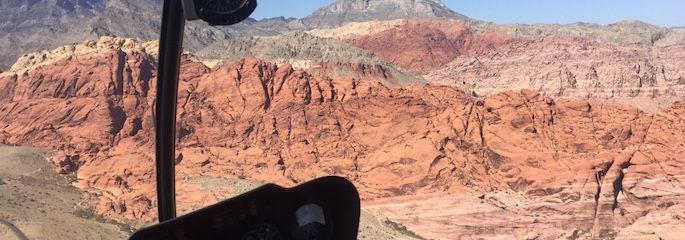 Las Vegas Hubschrauber Red Rock Canyon Flug - Treasure Tours of Nevada - deutsche Touren