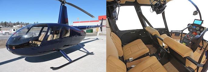 Treasure Tours of Nevada - VIP Helicopter mit deutschsprachigem Piloten