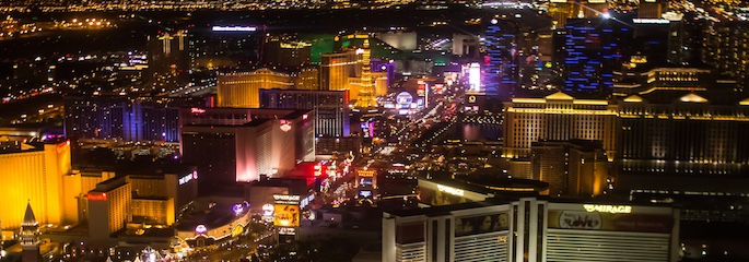 Las Vegas Night Flight - Treasure Tours of Nevada - deutschsprachige Tour
