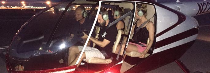 Hubschrauber Nachtflug über Las Vegas - Treasure Tours of Nevada - deutsche Touren