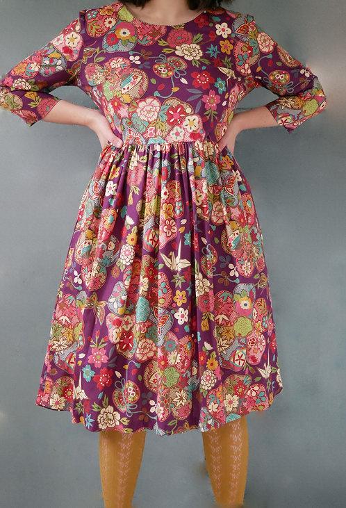 YURIKO DRESS - purple 50% off