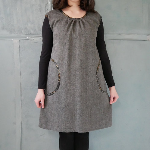 NISHI TUNIC- wool- 60% off