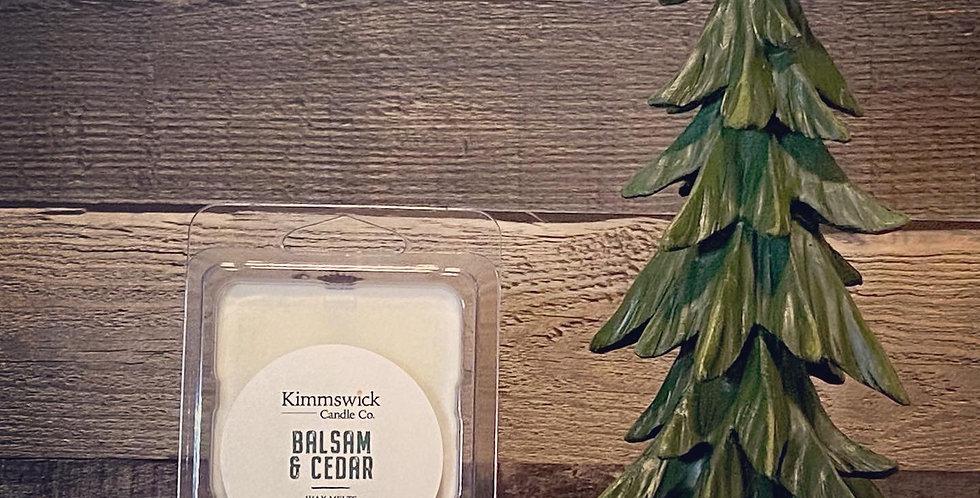 Balsam & Cedar Wax Melts