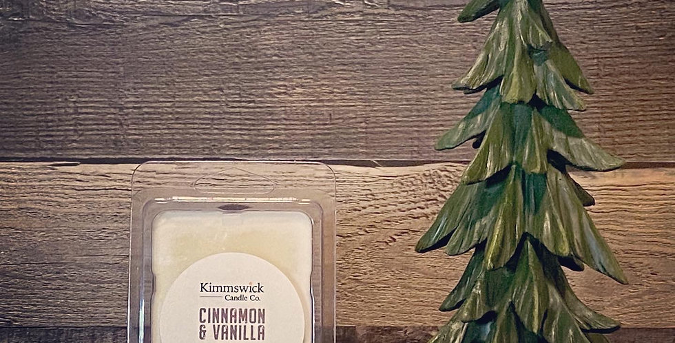 Cinnamon & Vanilla Wax Melts