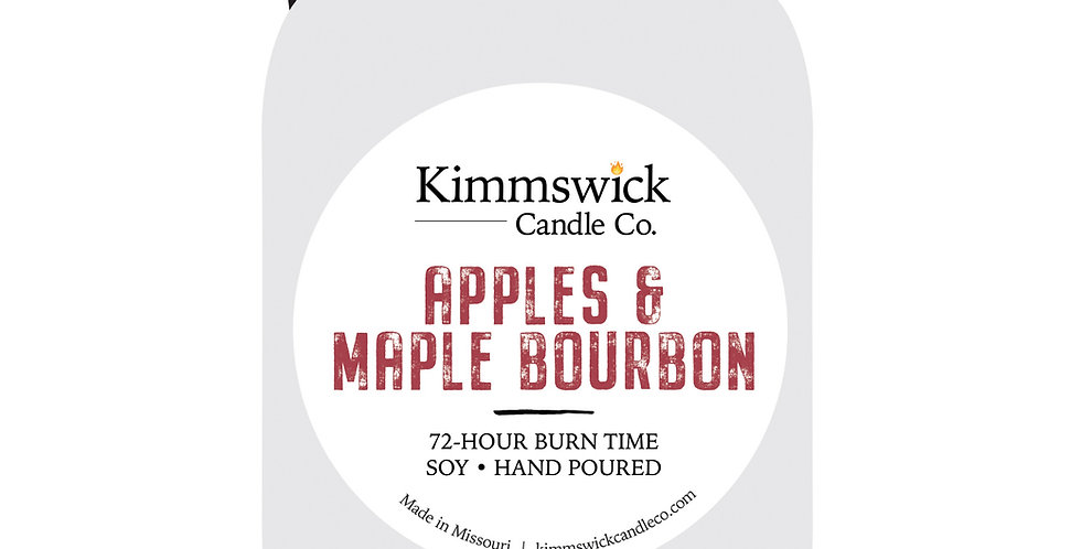 Apples & Maple Bourbon