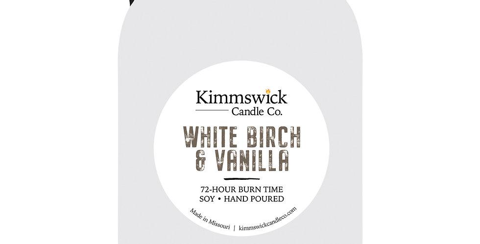 White Birch & Vanilla