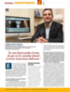 Dr. Sergio Lopez Lozano premio dentista año españa 2011