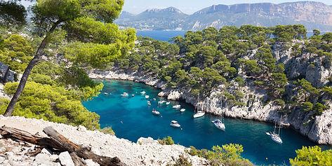 Ecole de voile en méditerranée
