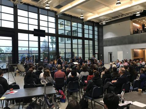 at California Baptist University chamber orchestra premiere, 2019