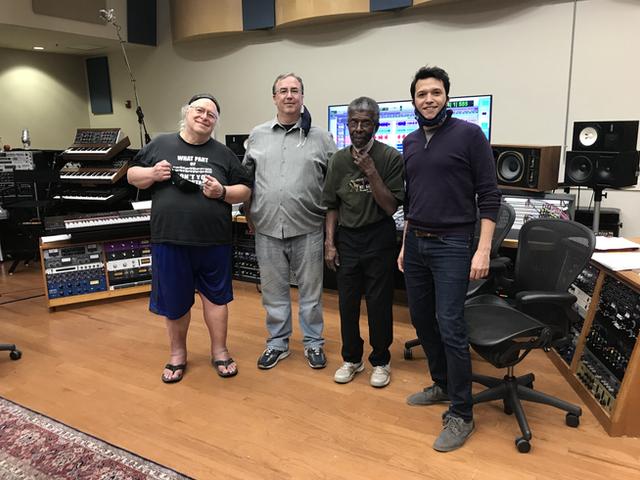 Makr Massey, Dan St. Marseille, and Marshall Hawkins 2020