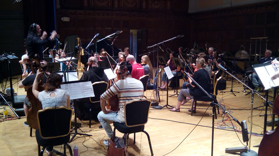 with Todd Maki & YSS Film Scoring Session, 2015