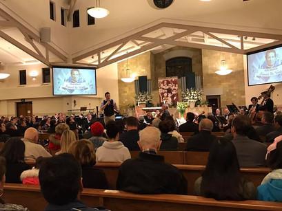 Souls Like Birds performance, St. Dominic Savio Roman Catholic  Church