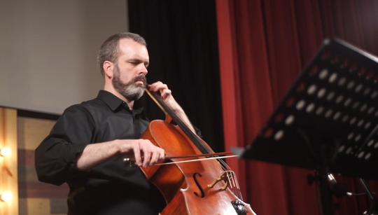 Robert Nicholson performing Meditations, 2017