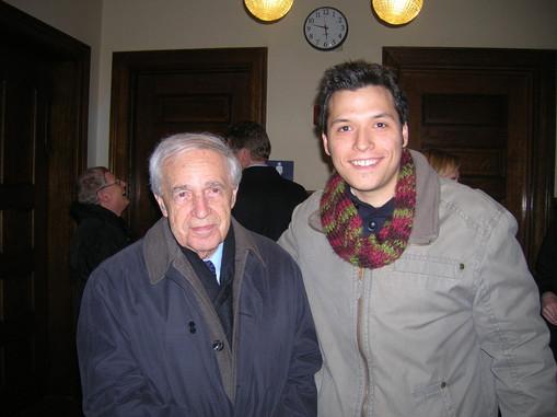 with Pierre Boulez, 2010