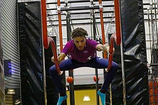 ninja warrior montpellier équilibre