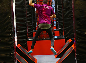 ninja warrior montpellier force et vitesse