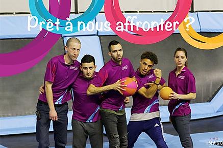 ligue dodgeball trampoline - Rebound World Trampoline Montpellier